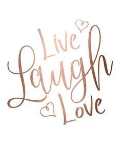 Live laugh love #qotd #dailyquote #cbloggers #lbloggers