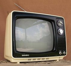 1970's small tv