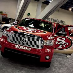 49er Nation SF Niners San Francisco 49ERS Niners for Life! Toyota Tundra Sf Forty Niners, Sf Niners, Toyota Tundra, 49ers Nation, Best Football Team, Nfl Football, San Francisco 49ers, Nfl 49ers, 49ers Fans
