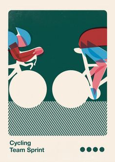 Olympic Style Prints for retail presentation by Anthony Peters, via Behance