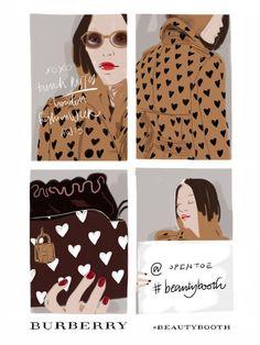 Scopri l'illustrazione che dà un volto ad Open Toe: leggi tutto su Beauty Booth illustration nella Boutique - opentoeillustration.tictail.com