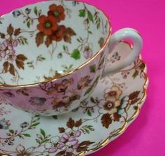 radfords tea cup andd saucer gatineau fine bone china cup and saucer