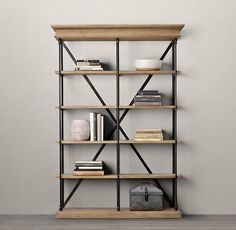 Julia's Product Research: Industrial-Style Bookcase for Under $100 — Liveblogging the Style Cure