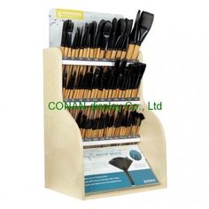 Cosmetic display, brushes display, counter display. We're Chinese professional retail display manufacturer and project designer.