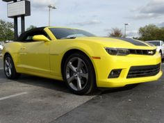 2014 Chevrolet Camaro 2SS Convertible - Bright Yellow