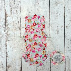 Floral Pink Shabby Chic Lace Petti by CountryCoutureCo on Etsy