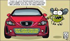 La utopía del día a día: SEAT LEÓN Cuna del Parlamentarismo y además el San...