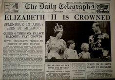 Elizabeth II is Crowned