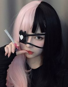 Pretty And Cute, Pretty Art, Aesthetic Girl, Aesthetic Fashion, Photographie Portrait Inspiration, Kawaii Cosplay, Asian Cute, Dye My Hair, Cute Japanese