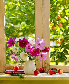 Sunshine and flowers - happiness!