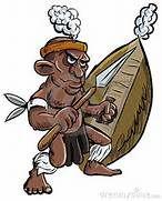 Cartoon Zulu Warrior Stock Photos - Image: 23662403