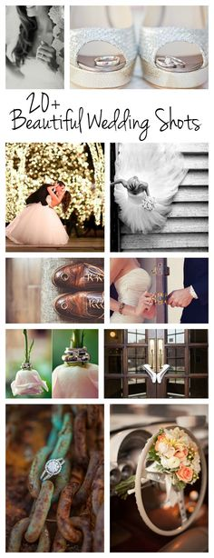 20 Beautiful Wedding Shots