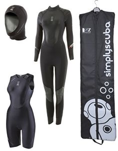 Fourth Element Ladies Proteus 5mm Wetsuit Package