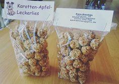 Apfel-Karotten-Leckerlien #mitliebegemacht #hunde #leckerlies #gebacken