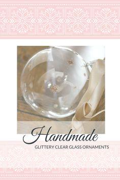 Handmade Glittery Cl