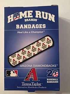 Home Run Brands Arizona DIAMONDBACKS Bandages 1 box 20 bandages * Click on the image for additional details.