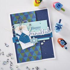 Fun Stampers Journey | Happy Hanukkah Card