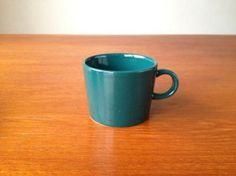 ARABIA/アラビア Kilta/キルタ コーヒーカップ グリーン 001|北欧ヴィンテージのpippuri(ピップリ)