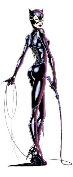Cat Woman by Joe Benitez #comic #comicgirl For more pin follow @Sonvima