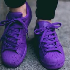 Adidas supercolor purple