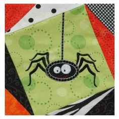 Free Designs & Projects :: Happy Little Spider - Embroidery Garden In the Hoop Machine Embroidery Designs