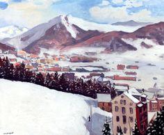 Crans-sur-Sierre  Albert Marquet - 1936