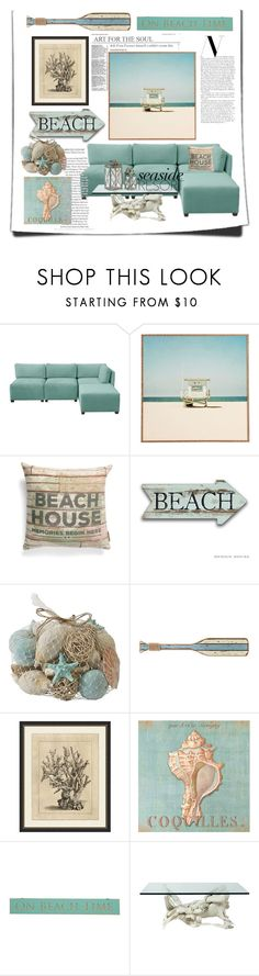 """""""Its beach time"""" by childofgod-97 ❤ liked on Polyvore featuring interior, interiors, interior design, home, home decor, interior decorating, Skyline, DENY Designs, Primitives By Kathy and Pier 1 Imports"""