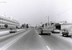 Traveling north on South Saginaw Street, near the old Fisher Body Plant #1. Flint, Michigan. Circa 1977.