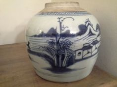 Late 18th century Chinese ginger jar by Mallingbournes on Etsy