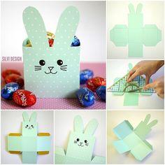 Roztomilému králíčkovi plném pralinek nikdo neodolá. #DIY