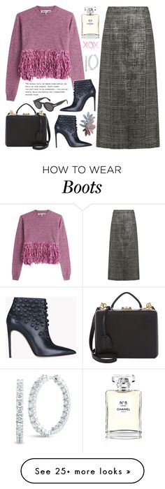"""""""Untitled #1524"""" by elena-777s on Polyvore featuring McQ by Alexander McQueen, Jil Sander, Dsquared2, Chanel, Roberto Coin, Mark Cross, GALA and autumnwinter2016"""