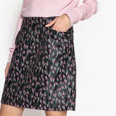 La Redoute Womens Floral Jacquard Print Skirt&Nbsp; #LaRedoute #Standard