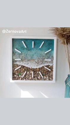 Diy Resin Crafts, Diy Home Crafts, Arts And Crafts, Ocean Crafts, Ocean Creatures, Ocean Photography, Beach House Decor, Beach Pictures, Resin Art