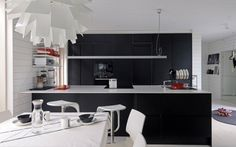 modern black kitchen ombiaiinterijeri | All things nice
