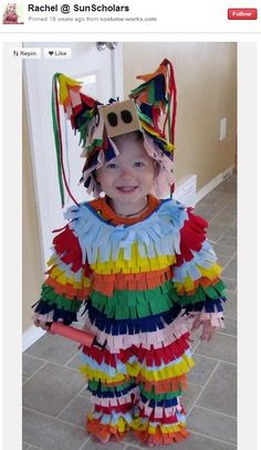 homemade PINATA costumes - Google Search