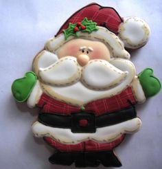 Ponques y Galletas De Patricia Nunez - Santa Claus