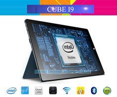 Original 12.2'' IPS Cube i9 Intel Core M 3-6Y30 Windows 10 Tablet PC 1920x1200 4GB RAM 128GB ROM 2.0MP+5.0MP Camera HDMI Type C #women, #men, #hats, #watches, #belts, #fashion, #style