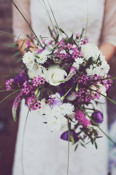 Love these country style and rustic flowers Purple Wedding, Floral Wedding, Our Wedding, Wedding Flowers, Orchid Color, Rustic Flowers, Rustic Elegance, Color Of The Year, Wedding Inspiration