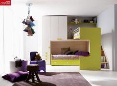 Lit mezzanine / avec rangement / pour enfant (mixte) 407 B Doimo Cityline