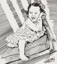 Sketchy #806: Lulah Boolah by Ally Pena