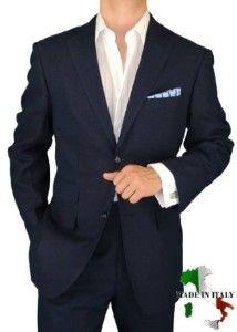 Navy Brioni suit