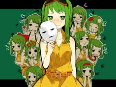 "[Gumi - ""10 Faced""] The beat is really peppy, but the lyrics are really self-reflective <3 http://www.youtube.com/watch?v=X17i0K5gc3g"