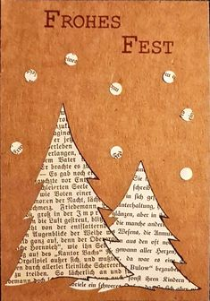 Tinker Christmas- Basteln Weihnachten Crafting Christmas Crafting Christmas The post Crafting Christmas appeared first on Jasmine Lambrick. Book Crafts, Christmas Projects, Holiday Crafts, Diy Christmas Cards, Handmade Christmas, Christmas Decorations, Christmas Christmas, Diy Cadeau Noel, Christmas Inspiration
