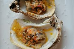 Grilled (or Broiled) Oysters with a Sriracha Lime Butter by melissav via food52