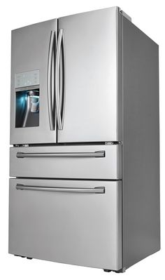 Samsung® Four-Door Refrigerator with Automatic Sparkling Water Dispenser, Powered by SodaStream®