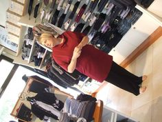 La nostra bellissima Laura, oggi ci ha stupito...  #moda #abbigliamento #modena  Seguici sulla nostra pagina Facebook: www.facebook.com/AmerigoVespucciAbbigliamento