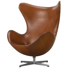 Arne Jacobsen, 'The Egg Chair' | From a unique collection of antique and modern armchairs at https://www.1stdibs.com/furniture/seating/armchairs/