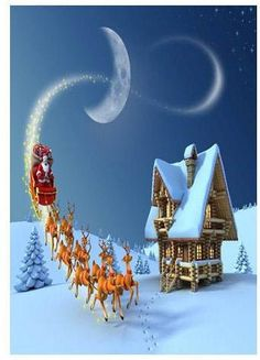 Original Christmas Poems and Spiritual Greetings www.bestandbeyondcards.com Reindeer Christmas Gift, Reindeer Names, Merry Christmas, Reindeer And Sleigh, Christmas Poems, Christmas Night, Christmas Pictures, All Things Christmas, Father Christmas