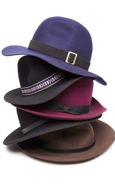 Pair these hats with blazers and denim for a cool look.