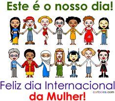 Gifs , Mensagens e Imagens :: Dia Internacional Da Mulher 8 de março